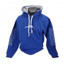 Tomos Hoodie zwart of blauw maat L