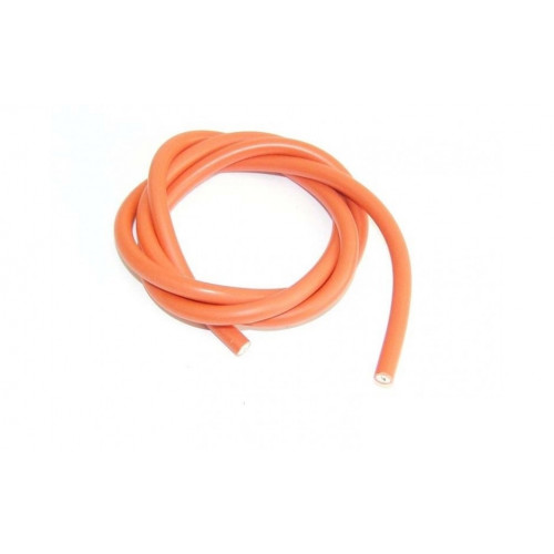 Bougiekabel Oranje 7mm 1 meter lang
