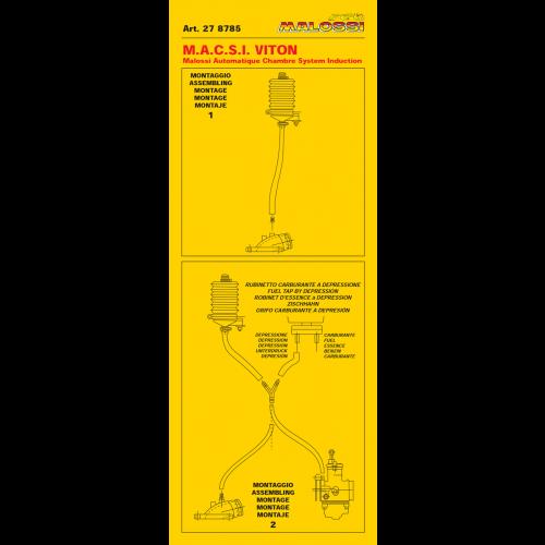 Gas Power Box MALOSSI MACSI Viton handleiding