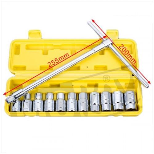 T-Sleutel 8 - 19 mm voor zeskant bouten.