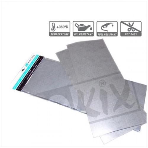 Pakkingpapier gewapend tot 350 Graden 140x 195mm