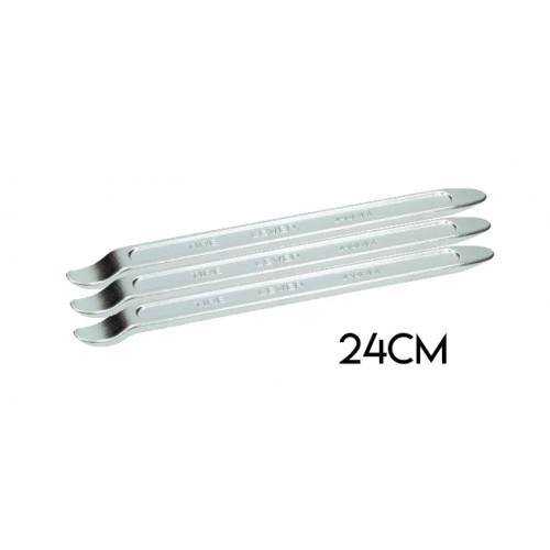 Bandafnemer / bandenlichter set. Zware kwaliteit 24cm