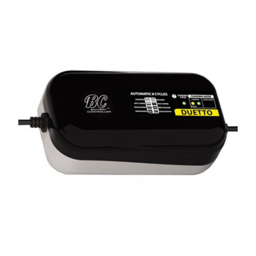 BC Duetto 12v acculader.  Universeel.