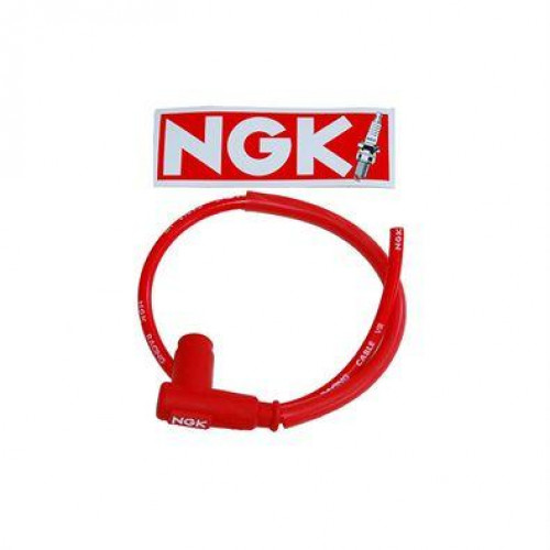 NGK  Bougiekap RACE + kabel  ROOD