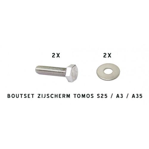 Boutset Zijscherm Tomos S25 / A3 / A35.