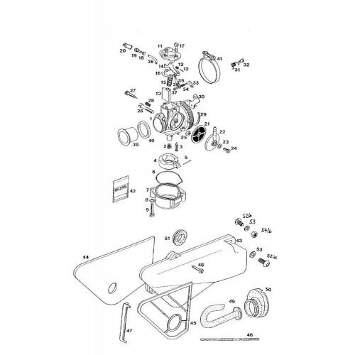 Dekselpakking carburateur Tomos Sha / Dell' Orto