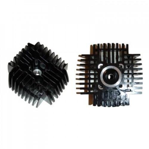 Cilinderkop Tomos. 65cc / 44mm. zwart - Snel - Hoge druk.