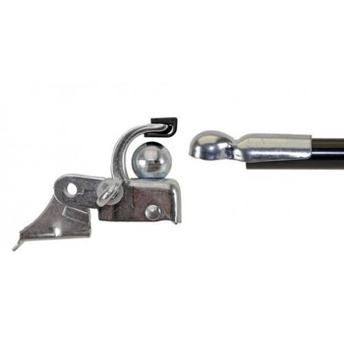 Brommer, scooter of fiets koppeling aanhanger trekhaak 2