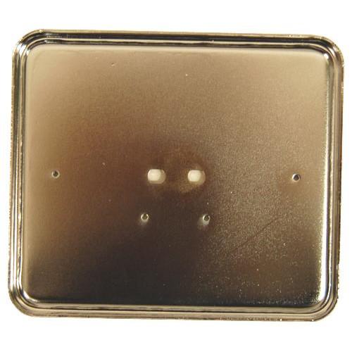 Kentekenplaat houder metaal staand of liggend.
