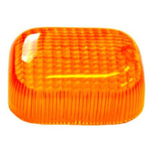 Knipperlicht glas Tomos a35. Oranje.