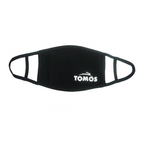 Tomos mondmasker uitwasbaar zwart