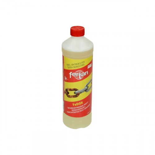 Snel ontroesten Fertan concentraat 1L fles.  FeDOX ontroester