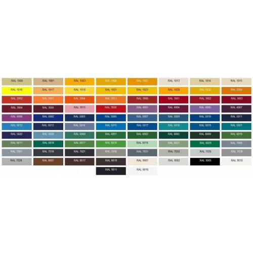 Wat is de kleur code van mijn tomos