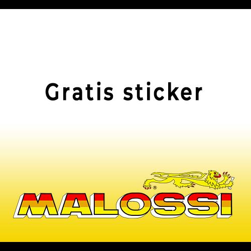 Sticker gratis malossi membraan tomos a35 snel carbon VL1