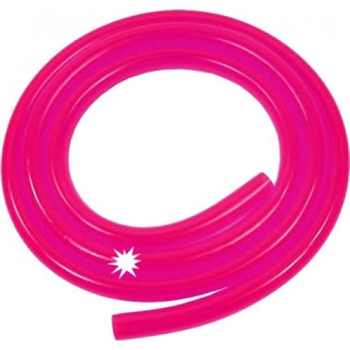 Benzineslang 5x8mm day glow pink per 1m (