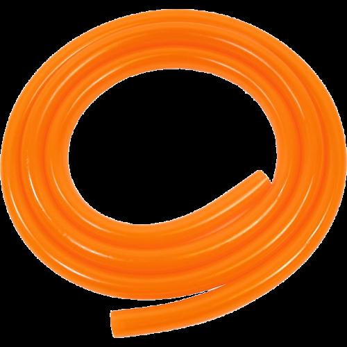 Benzineslang 5x8mm oranje per 1m