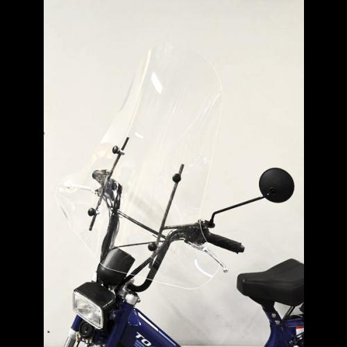 Tomos windscherm hoog inclusief bevestiging set 72cm