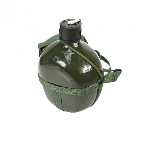 Veldfles 1.7 L groen aluminium