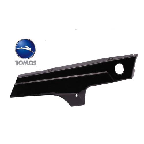 Zijscherm / zijkap Rechts Tomos A3 / S25 Metaal zwart.