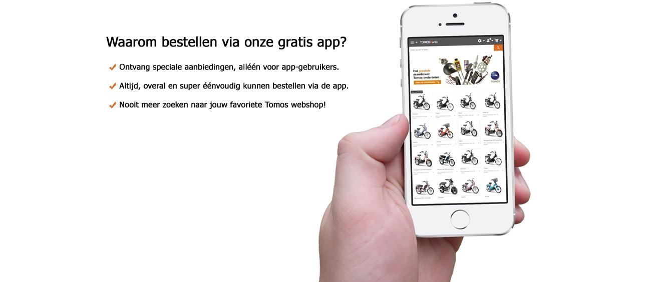 Tomos-parts.nl App